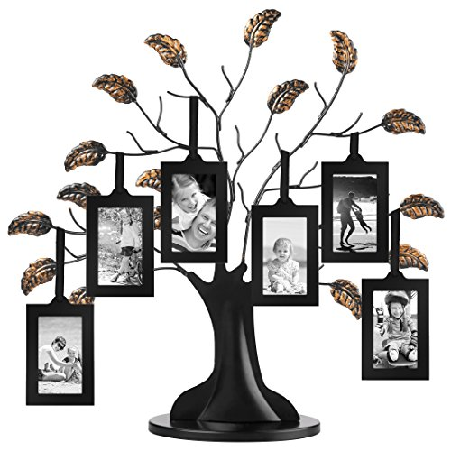 Americanflat Bronze Family Tree with 6 Hanging Picture Frames 2