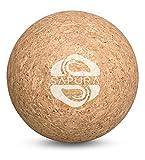 Bola de masaje corcho ✓ natural ✓ pelota terapia