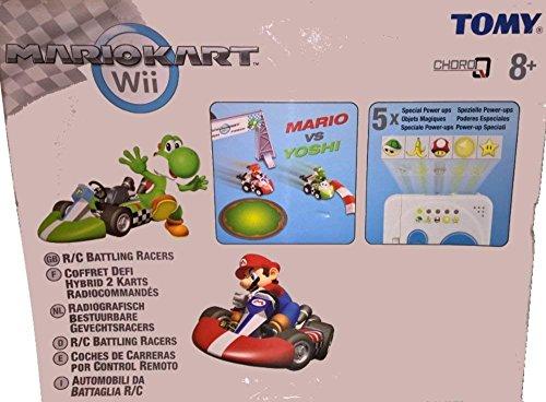 Tomy - 71579 - Véhicule Miniature et Circuit - Coffret Défi Hybrid - Mario Kart Wii - 2 Véhicules