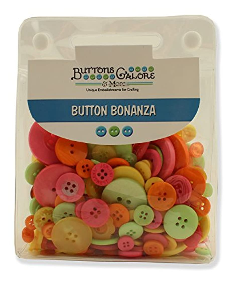 BUTTONS GALORE 1/2 LB - 300+ Colorful Craft & Sewing Buttons - Candy Store