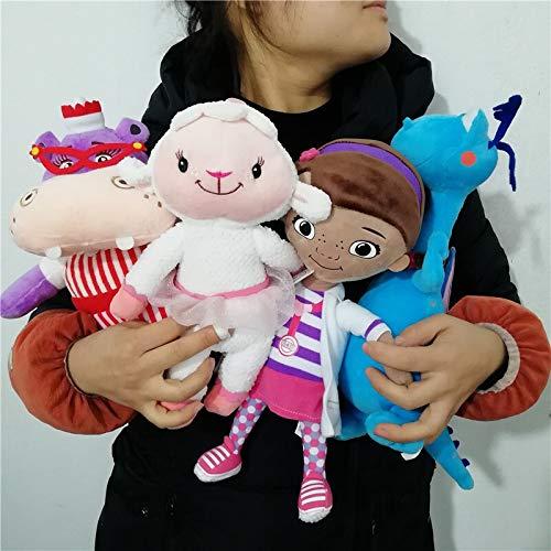J-MWJ Juego de Peluche Set de Oveja Suave muñeca Animal J-MWJ ( Color : A )