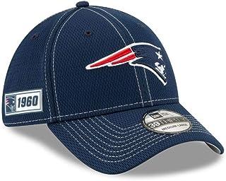 New Era Men`s New England Patriots Cap Hat Sideline Road NFL Football 100 Season
