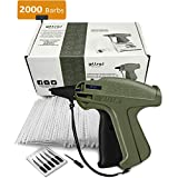 GILLRAJ MILAN Clothes Tagging Gun with 1000 2' Standard Barbs and 6 Needles Clothing Retail Price...