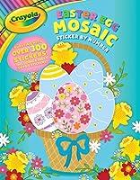 Crayola Easter Egg Mosaic Sticker by Number (11) (Crayola/BuzzPop)