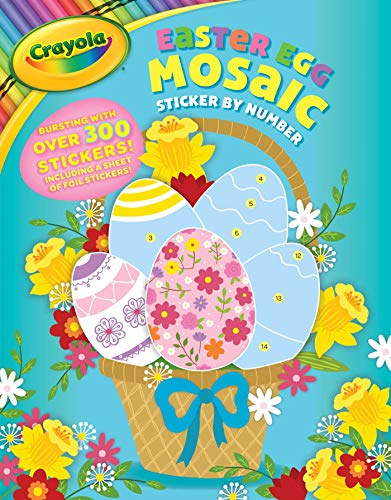 Crayola Easter Egg Mosaic Sticker by Number (Crayola/BuzzPop)