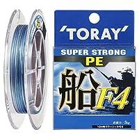 東レ(TORAY) PEライン スーパーストロング PE 船 F4 150m 3号 16kg 4本 5色