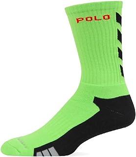 POLO SPORT Athletic Chevron Crew Socks Size 10-13