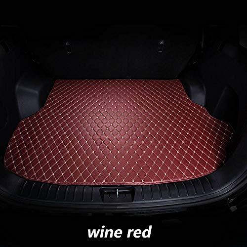 HOWEHORC voor ChangAN CS75 2014 2015 16-2018, auto boot mat auto staart laars lade auto vloerbedekking mat modder pad accessoires fit-Wijn Rood
