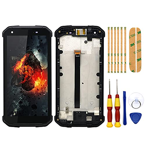 AiBaoQi for Blackview BV9500/BV9500 PRO Android 8.1Touch Screen+LCD Display+Frame Assembly Replacement 5.7 inch