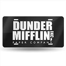 Best dunder mifflin license plate Reviews
