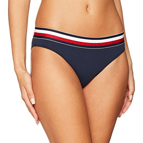Tommy Hilfiger Bikini, Blu (Navy Blazer 416), 40 (Taglia Produttore: LG) Donna