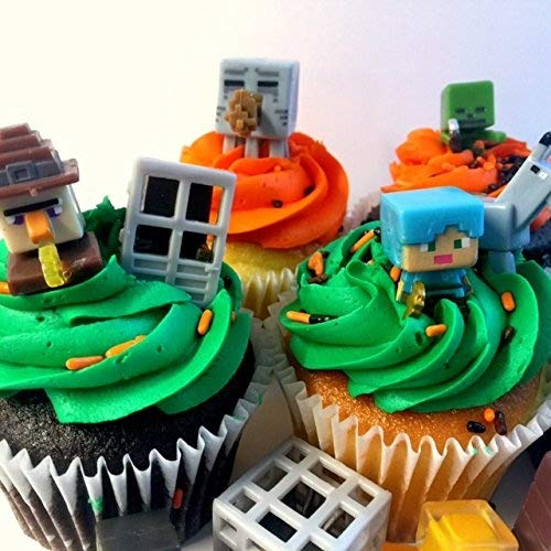 Miner Themed Cake Cupcake Topper 24 pcs