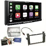 Pioneer AVH-Z9100DAB CarPlay Android Auto Digitalradio USB CD DVD Autoradio Touchscreen Moniceiver Navi Einbauset für Mercedes Vito W447