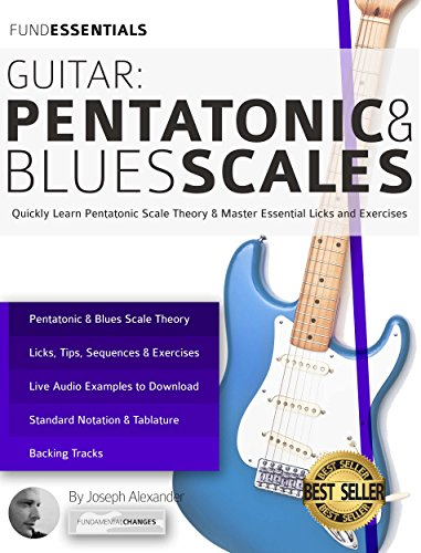 Guitar: Pentatonic and Blues Scales: Quickly Learn Pentatonic Scale Theory...