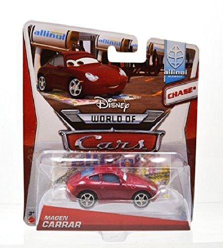 Mattel Disney Pixar CARS2 allinol Unisexe CARRAR Chase 2014 Porsche Voiture Mini