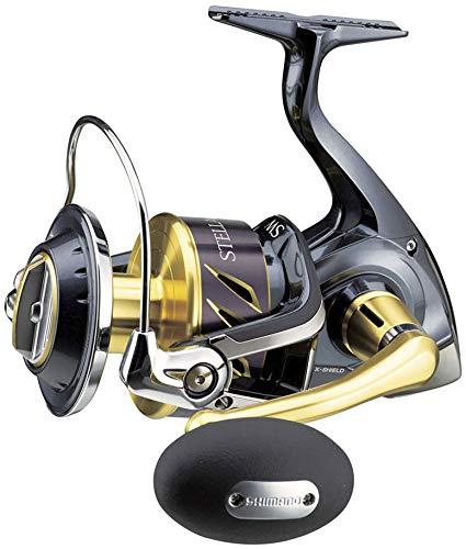 Japan-Shimano - Moulinet Spinning - Stella 6000 SW-B HG - 440g - R:5.7:1 - cap.0.330Mm/240m - Stl6000Swbhg - Sh46A13005