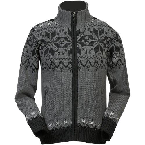ICEWEAR Gunnar Norwegian Fully Lined Jacket | Comfortable Wear Sweater Grey