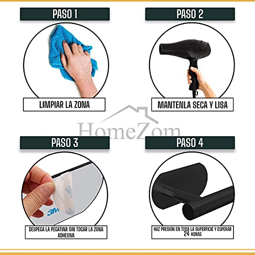HomeZom Portarrollos para papel higiénico
