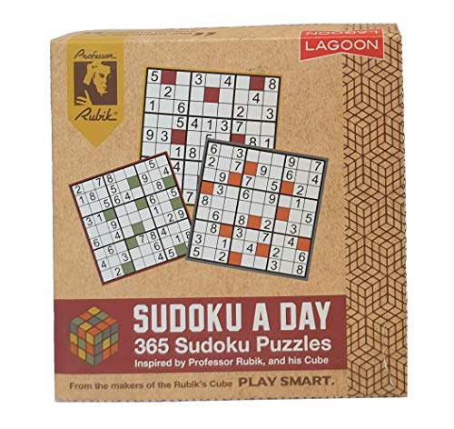 Lagoon Group- Rubik Sudoku A Day Deskblock Blocco per scrivania, Multicolore, 9033