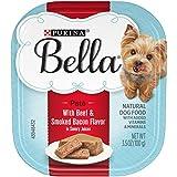 Purina Bella Natural Small Breed Pate Wet Dog Food,...