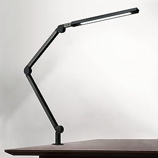 Lampe de Bureau EYOCEAN 10W Lampe d'Architecte, avec Pince, LED Protection des Yeux, Atténuation et Température de Couleur...