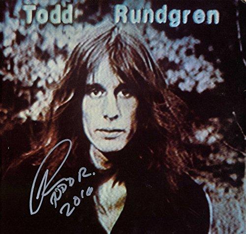 Todd Rundgren Signed Hermit Of Mink Hollow Album Cover AFTAL UACC RD COA