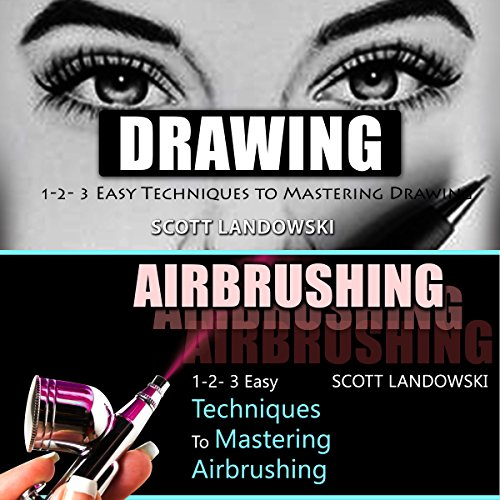 Drawing & Airbrushing audiobook cover art