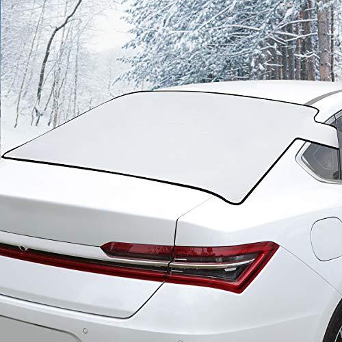 BUG HULL Heckscheibenabdeckung Auto - Windschutzscheibe Abdeckung Zweischicht-Design Für Anti-Schnee/EIS/Frost/Regen, Passt Für Die Meisten Auto SUV 135 x 80 cm by