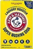 Arm & Hammer Super Washing Soda Detergent Booster, 55...
