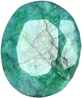 Colgante Tamaño Verde Esmeralda Gem 16.60 Ct Egl Certificado Oval Shape verde Esmeralda, joyería que hace piedras preciosa...