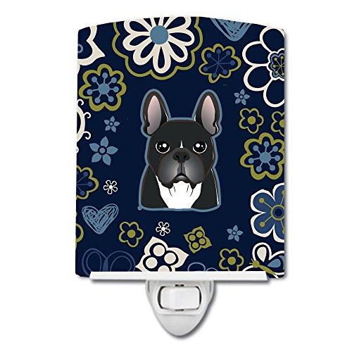 Carolines Treasures Nachtlicht, französische Bulldogge, Keramik, 15 x 10 cm, Mehrfarbig