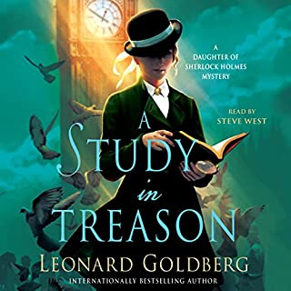 A Study in Treason audiobook cover art