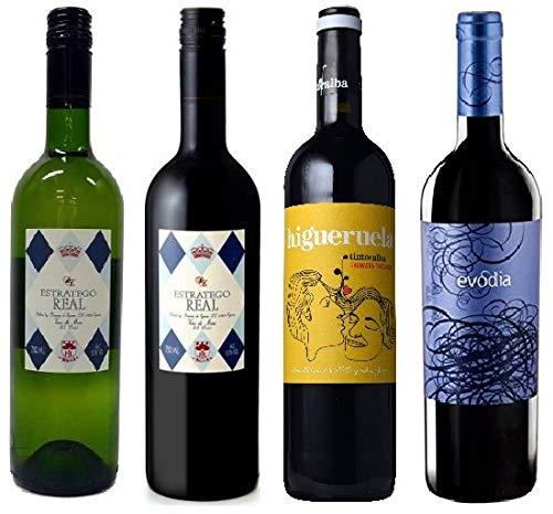 『神の雫』に登場 スペインワイン4本セット(750ml 赤3本、白1本)