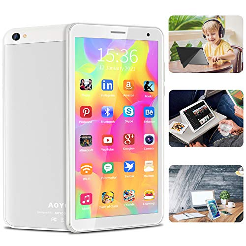 Android Tablet 8 inch, Android 10.0 Reading Tablet with...