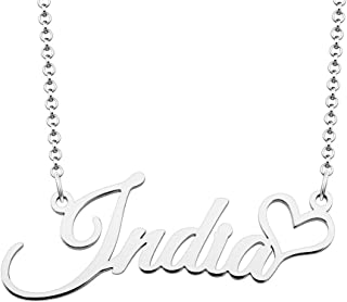 Best custom name necklace india Reviews