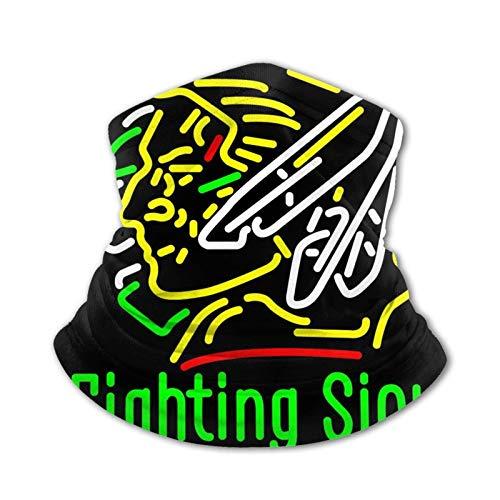 IUBBKI Kid Face Cover con Fighting Sioux Protection Polaina para el cuello Bandanas Deportes a prueba de viento
