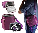 Navitech Purple Digital Camera Carrying Case and Travel Bag