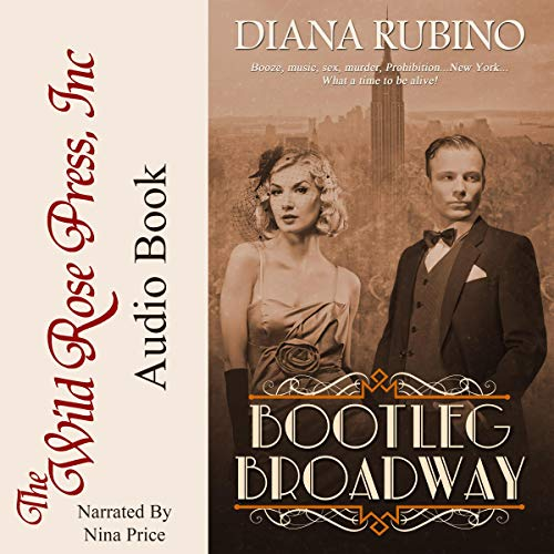 Bootleg Broadway audiobook cover art