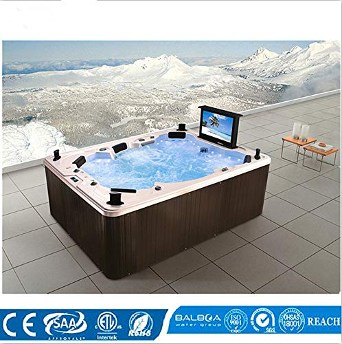 2.8 Meter 2019 new Courtyard 6 People outdoor spa tub Jacuzzi spa whirlpool bathtub M-3342 massage bathtubs