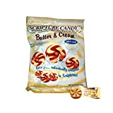 Scripture Candy, Butter & Cream 5.5 Ounce Bag, 25 Pieces