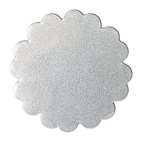 Réflecteur thermocollant – KLEINE Wolke/fleurs 4 cm