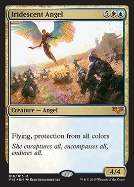 Magic: the Gathering - Iridescent Angel - From the Vault: Angels - Foil by Magic: the Gathering