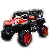 El coche juguete teledirigido para coche eléctrico para niños, puede sentarse de tamaño para niños y niñas con cuatro ruedas motrices, carrito de paseo de cuatro ruedas para niños, 112 x 69 x 72 cm, 3