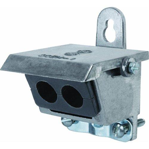 d Thomas /& Betts TBFCT/_3401 est/ándar, 100 unidades Caja de anclajes de tornillo con brida