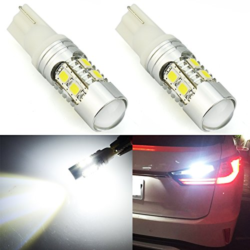 JDM ASTAR Super Bright AX-2835 Chipsets 912 921 White LED Bulbs For Backup Reverse Lights(Only used for backup reverse lights)