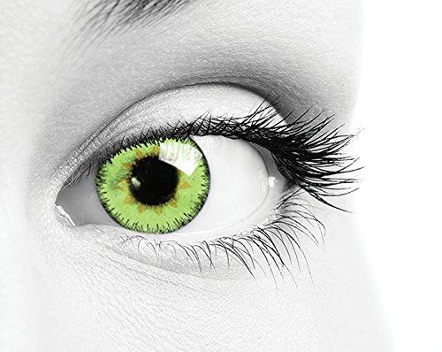 Lenti a contatto colorate giornaliere Queen's One Daily Color confezione da 10 bc 8.60 diam. 14.2 colori Green, Blue, Choco, Pearl-Green