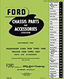 1928-48 Car and Truck Chassis Parts and Accessories Catalogue (English Edition)