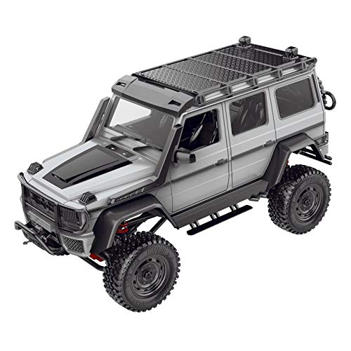 lahomia DIY MN86KS RC Crawler Kit 1:12 Escala High 4WD Coche - Gris