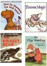 The Biggest Bear, How Do Dinosaurs Get Well Soon?, The Pig's Wedding, & Possum Magic