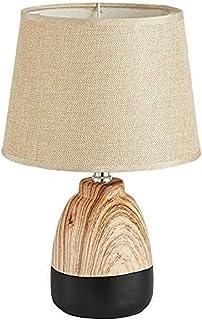 WYBFZTT-188 Simple et élégant Accueil Tissu Abat LED Protection des Yeux Lecture céramique décorative Lampe de Table